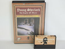 YOUNG SHERLOCK The Legacy of Doyle No instruction ref/2178 MSX Japan Game MSX