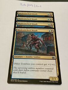 Magic the Gathering MTG Bladestitched Skaab x4 Uncommon Cards NM/M