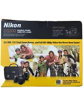 Nikon D3200 24.2MP Digital SLR Camera - Black   *** MINT CONDITION ***