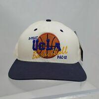 Vintage UCLA Bruins Basketball NCAA Championship 3-Peat Snapback Hat; USA