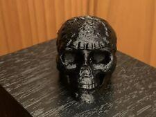 Aztec Mayan Death whistle Black