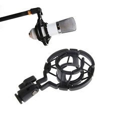 Universal Mic Microphone Shock Mount Holder Clip Stand for Studio Recording