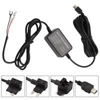 Universal HardWire Fuse Box Car Recorder Dash Cam Hard Wire Kit Mini USB Plug