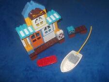 Lego Duplo Ville Mickey 1 X Strandhaus Steg Boot Surfbrett aus 10827 Haus WC