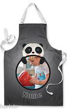 FOTO PERSONALIZZATA PANDA bambini grembiule cottura al forno PITTURA acqua