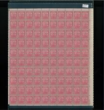 1932 United States Postage Stamp #717 Plate No. 20876 Mint Full Sheet