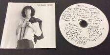 Patti Smith - Horses (CD) Arista BMG (07822-18827-2) European Press 1996 N/Mint