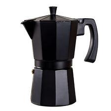 9 Taza de cafetera italiana Aluminio Moka Cafetera De Filtro Olla stove Top Espresso