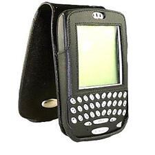Blackberry RIM 6700/7700 Genuino Cuero Estuche/Cubierta y clip de cinturón 67X0/77X0 Nuevo