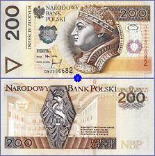 POLAND 200 ZLOTYCH 25.03.1994(95) *P-177*PREFIX DW*EF*Banknote
