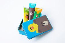 Line Friends Edition 2080 Toothpaste Set 120 g x 3 pcs + Free Tin Case (Blue)
