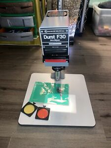 Photographers/Collectors! Vintage  Durst F 30 Enlarger ( Complete Unit ) Ideal!