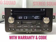 """""""AC646"""" 02 03 04 Acura RL Radio AM FM 6 Disc Changer OEM 39101-SZ3-A712-M1"""