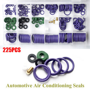 225× Conditioning Sealing Rubber Ring Car Air Refrigerant A/C Trim Repair Repair