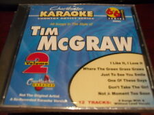 CHARTBUSTER 6+6 KARAOKE DISC 20443 TIM MCGRAW VOL 2 CD+G COUNTRY MULTIPLEX