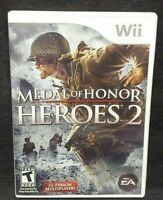 Medal of Honor: Heroes 2 -  Nintendo Wii Wii U Game Working  Complete Tested