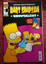 Comic Bart Simpson - Showtalent (mit Poster)