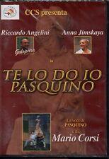 TE LO DO IO PASQUINO - MARIO CORSI - DVD (NUOVO SIGILLATO)