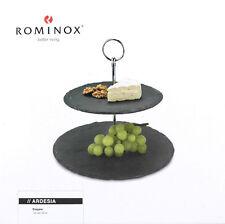 """ROMINOX Schiefer-Etagere """"Ardesia"""", zwei Ebenen, sehr hochwertig, OVP"""