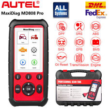 Autel Maxidiag Md808 Pro All System Obd2 Code Scanner Abs Sas Bms Srs Than Md802
