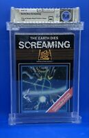The Earth Dies Screaming -- WATA 9.4  Atari 2600 - 20th Century Fox - NEW Sealed
