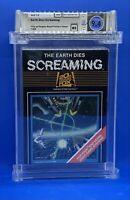 The Earth Dies Screaming -- WATA 9.4  Atari 2600 - 20th Century Fox - NEW Sealed