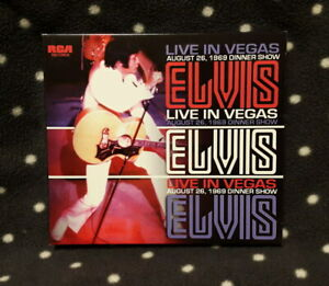 Elvis Presley FTD  CD '' live in Vegas  ''  Follow That Dream , Zust. sehr gut