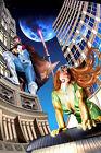 Greg Horn SIGNED Marvel Comic X-Men Super Hero Art Print ~ Rogue & Gambit