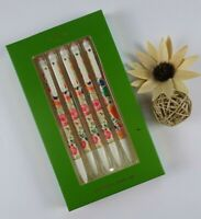 Kate Spade 5-piece Mechanical Pencil SET Painterly FLORAL Print New In Box