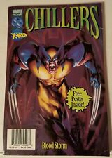 MARVEL CHILLERS - BLOOD STORM - W/POSTER - 1997