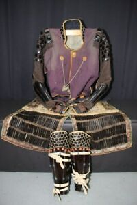 (AL-19) High Grade SANGU (KOTE,HAIDATE,SUNEATE) of YOROI Adult Edo