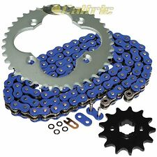 Blue O-Ring Drive Chain & Sprocket Kit Fits HONDA ATC250R 1986 TRX250R 1986 87
