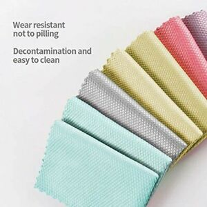 Easy-Clean Fish Scale Microfiber Polishing Cleaning-Cloth For Household Cleaning