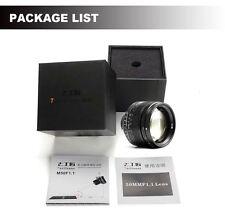 7 Artisans 50mm f/1.1 Sonnar lens for Leica M-mount A7