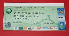 2007/2008 FOOTBALL LIGUE 1 AS SAINT-ETIENNE-BORDEAUX ASSE VERTS CHAUDRON