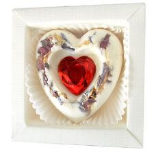 mein Herz* exklusive Badepraline mit Strass Herzchen Geschenk Badekugel (291)