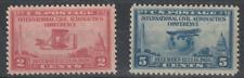 More details for us 1928 international civil aeronautics conference pair commemorative stamp mnh