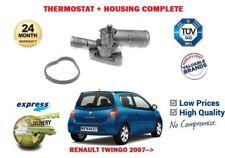 pour Renault Twingo 1.2 16V + Turbo TCE 2007- > THERMOSTAT + boîtier KIT