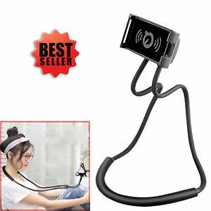 Universal Lazy Hanging Neck Mobile Phone Holder Mount Stand Desktop Bed Selfie