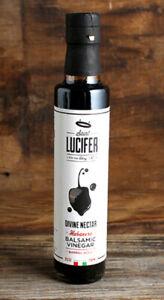 Saint Lucifer's Divine Nectar Habanero Infused Balsamic Vinegar 8.5 oz - RARE
