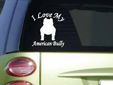 Pitbull cropped Whisperer Sticker J846 6 inch Bully decal