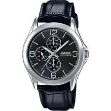 bd0efe094777 Reloj Analogico CASIO MTP-V301L-1A - Correa De Cuero - 3 Esferas -