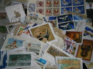 Südafrika Kiloware 100g ca. 300 Marken alt bis neu - mit Umschlag, Briefteilen