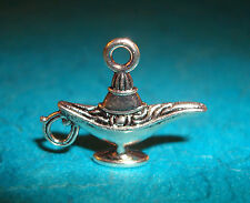 Pendant Aladdin's Lamp Charm Genie Bottle Charm Magic Lamp Charm Genie Lamp