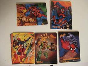 SPIDERMAN 1997 FLEER MARVEL- 50 CARD BASIC SET - NO CHASE CARDS (SKYBOX)