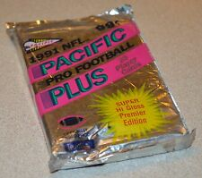 1991 one Sealed NFL PRO FOOTBALL Pacific Plus 28 player card unopen pack