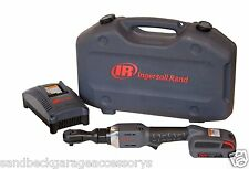 "Ingersoll Rand IQV 20 Volt 3/8"" Drive Cordless Impact Ratchet 73Nm IRR3130-K1"