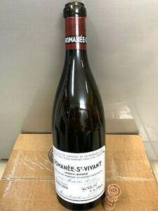 Domaine de la Romanee Conti Romanee St Vivant 2009 Empty Bottle With Cork