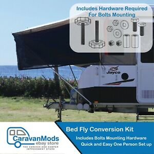 Jayco Bed Fly Conversion Kit Suit Jayco Camper Trailer CaravanMods - Universal