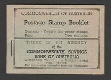 More details for australia 1935-38 2/- 'wherever there is ...' part booklet sb26c.
